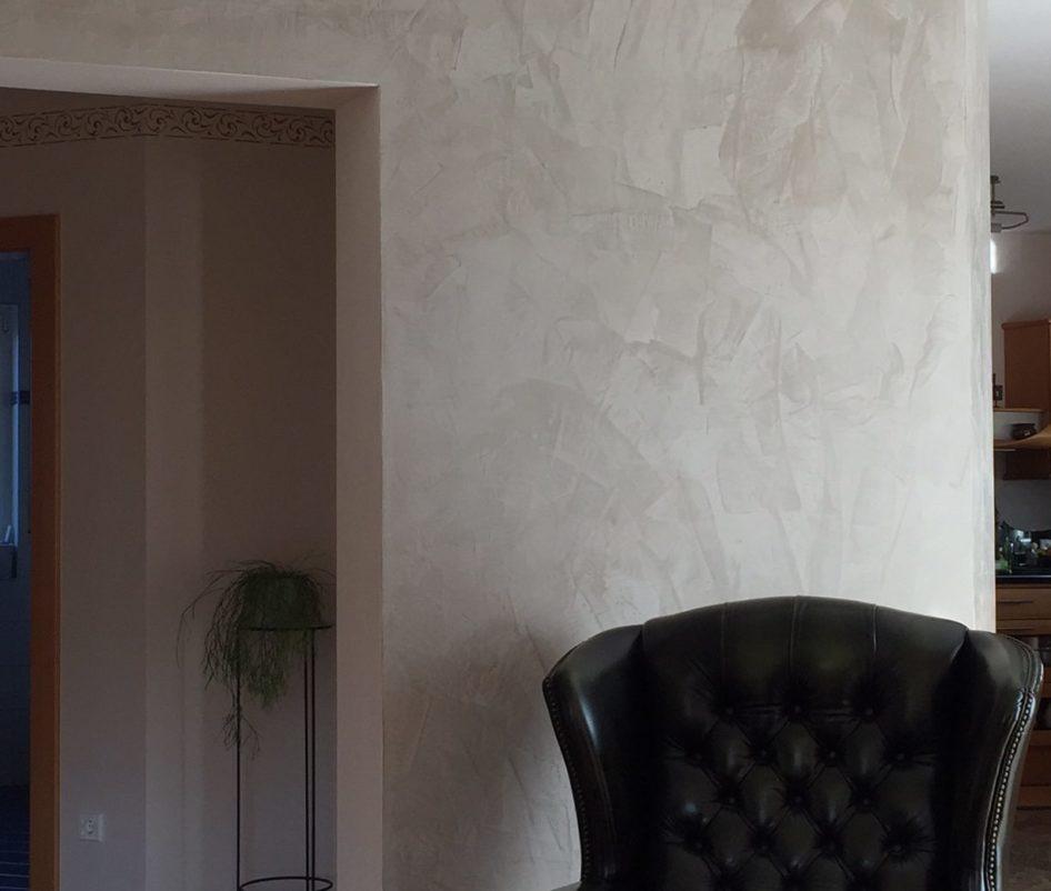 Große Räume farblich trennen