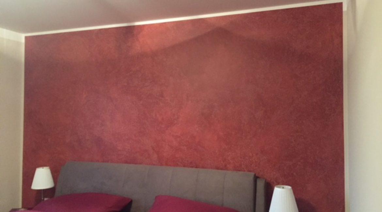 Schlafzimmer gestalten einer Wand